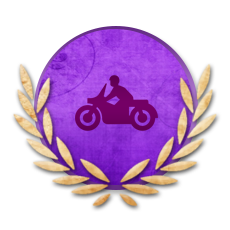 Achievement Rookie Biker