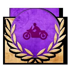 Achievement Rookie Biker