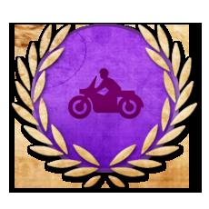 Achievement Experienced Biker