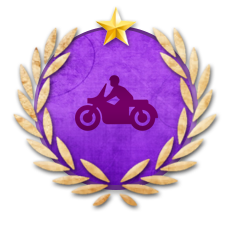 Achievement Master Biker