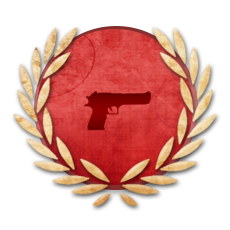 Achievement Pistol Gunner