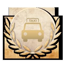Achievement Rookie Taxi Driver