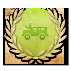 Achievement Experienced Warrior