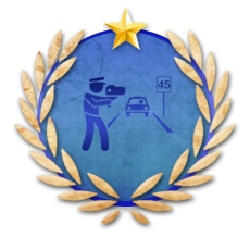 Achievement The Speed Enforcer